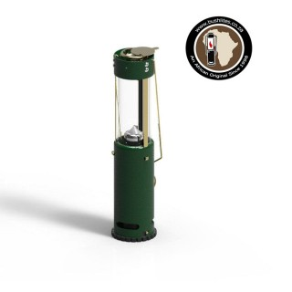 Bushlite candle lantern - green
